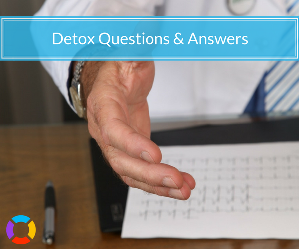 Caring professionals answer the questions you have about detox. Don't be afraid to call to get the answers you NEED.