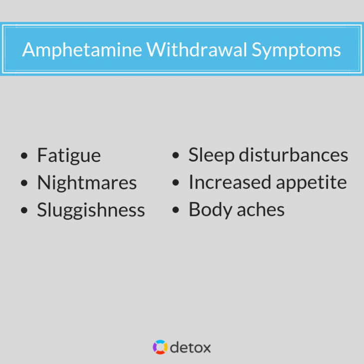 Seeking medical detox is the best way to overcome amphetamine withdrawal symptoms!