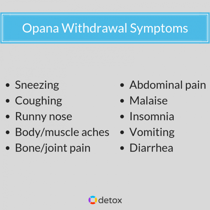 Detox treatment will help you overcome opioid dependence. Discover more about Opana withdrawal symptoms and treatment at Detox.com!